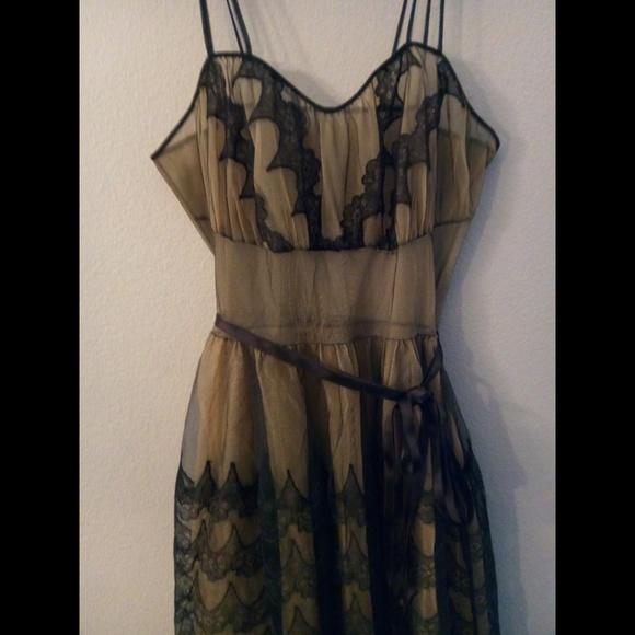 6ce66778f0a2 Vintage Dresses | 1950s Pinup Slip Goth Dress | Poshmark
